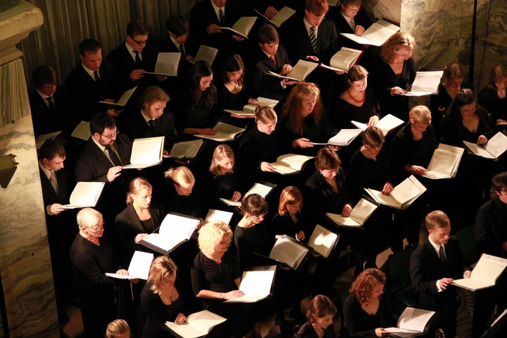 Chorsänger in Aachen